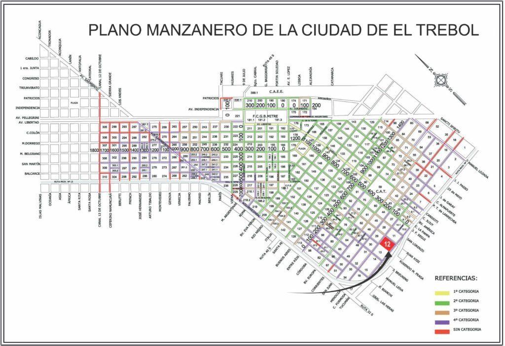 Lotes Manzana 12, El Trébol