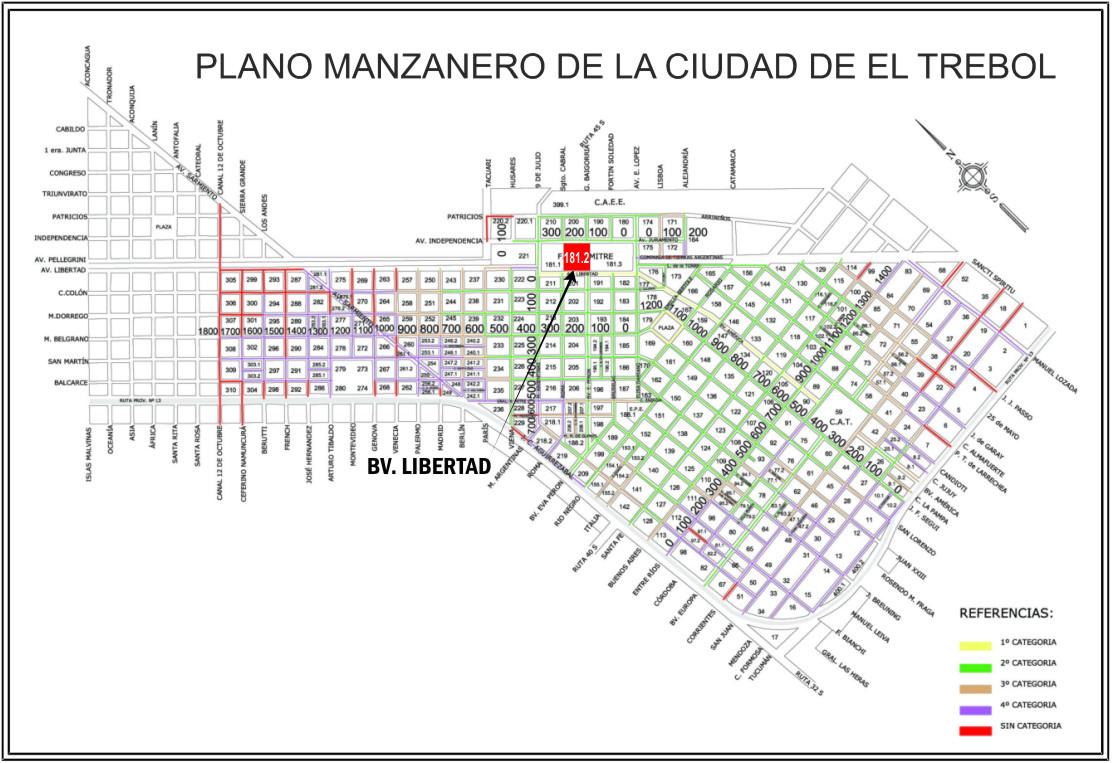 Bv. Libertad 250, El Trébol