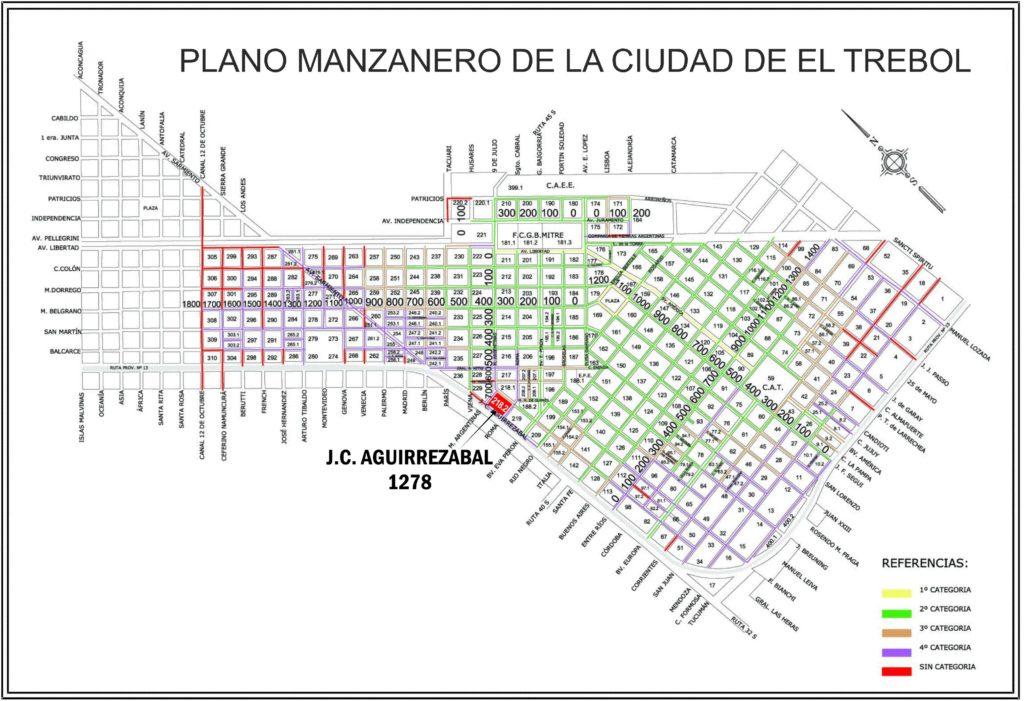 J. C. Aguirrezabal 1278, El Trébol