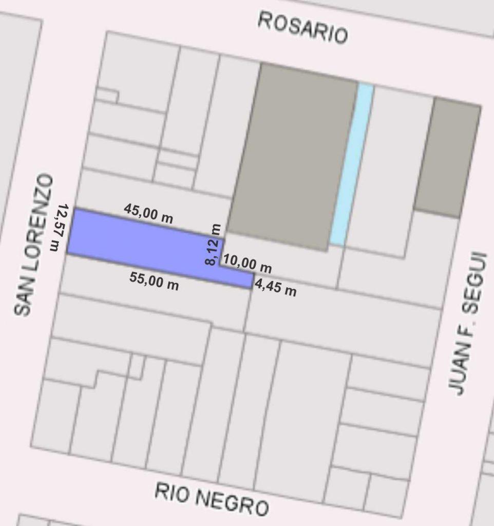 San Lorenzo 1050, El Trébol