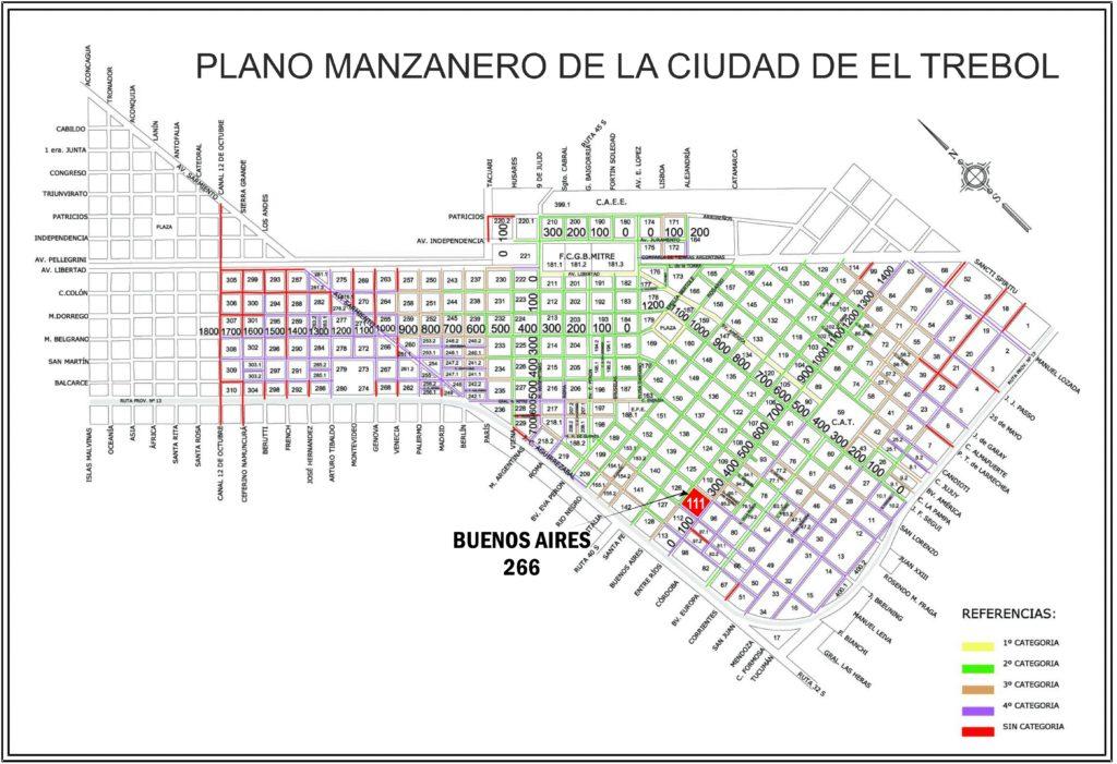 Buenos Aires 266, El Trébol