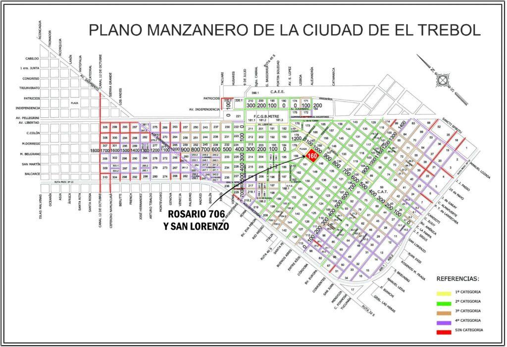 Rosario 706 y San Lorenzo, El Trébol