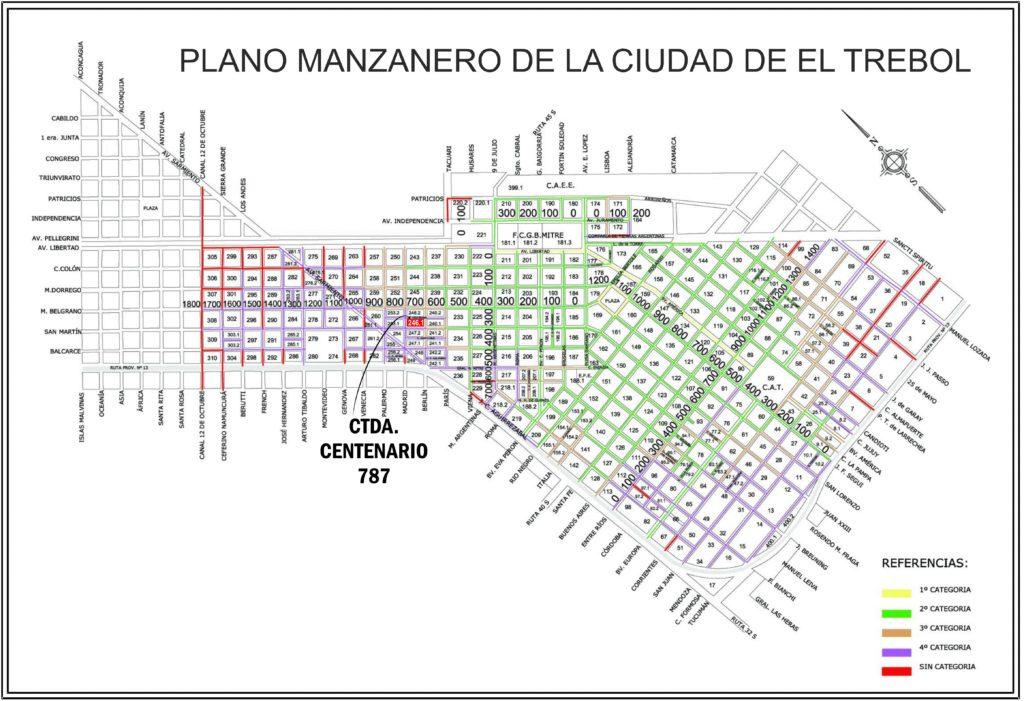 Ctda. Centenario 787, El Trébol