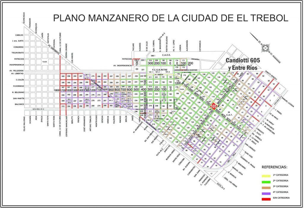 Candiotti 605 y Entre Ríos, El Trébol