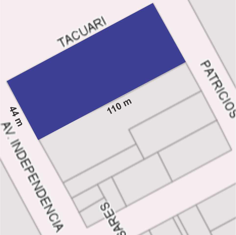 Av. Independencia al 500, El Trébol