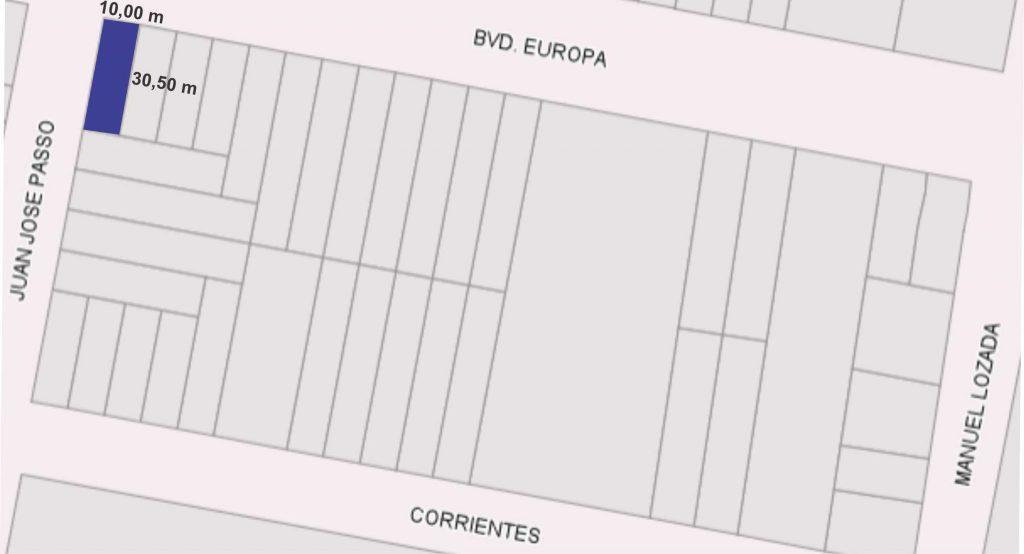 Bv. Europa y J.J. Paso, El Trébol