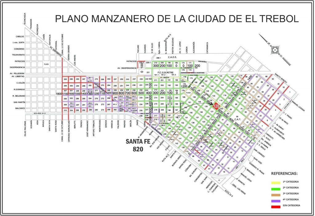Santa Fe 820 y J. f. Seguí, El Trébol
