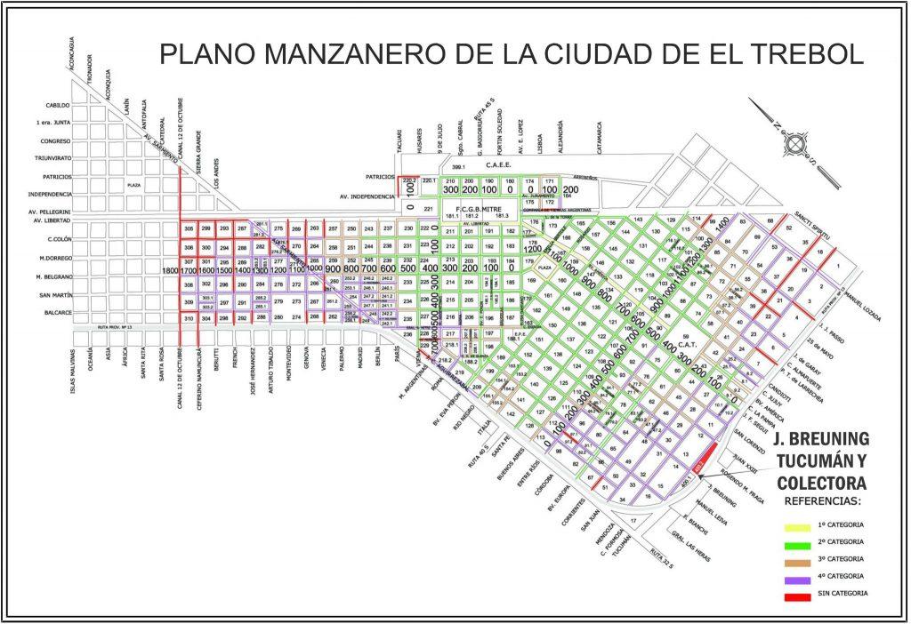Tucumán, Colectora y J. Breuning, El Trébol
