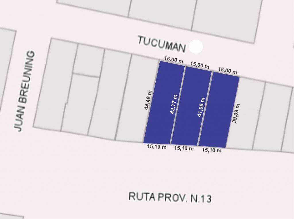 Tucumán al 400 (lote 11, 12 y 13), El Trébol